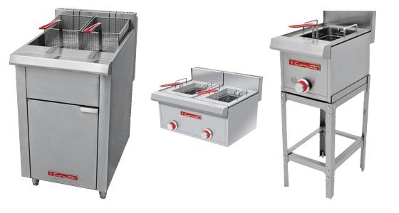 Equipo para Cocinas Industriales y Restaurantes -Freidoras Comerciales- Grupo Reimse