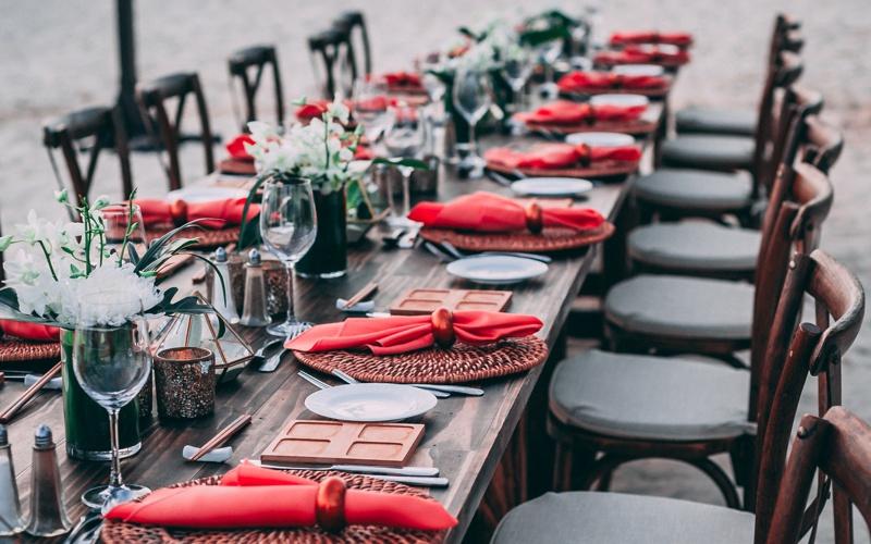 Mobiliario para Eventos y Banquetes
