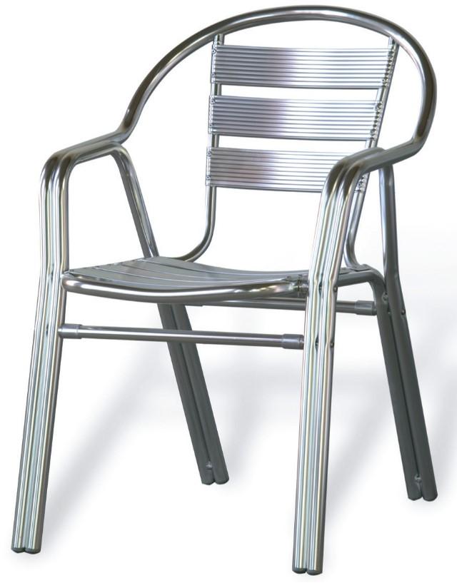 Sillas de aluminio para restaurante