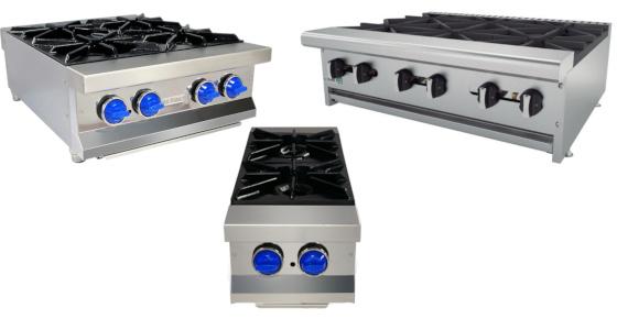 Parrillas para cocina industrial