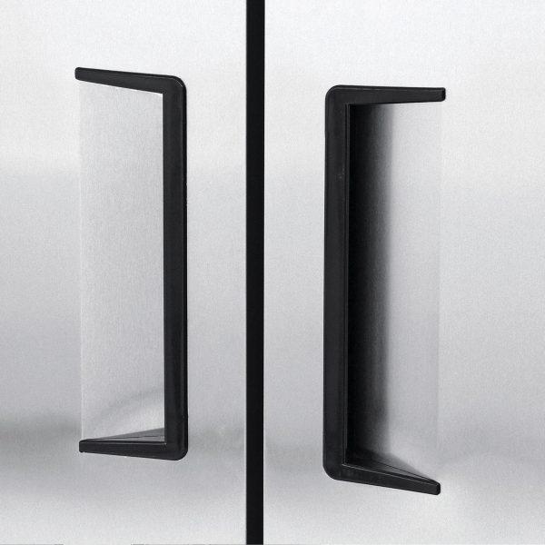 023 1 Congelador vertical con 2 puertas solidas, 6 parrillas plastificadas y un volumen interior de 47 ft³
