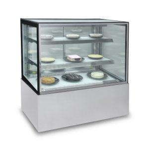 Vitrina Refrigerada Cristal Recto SE-GN-900R2 para Pasteles