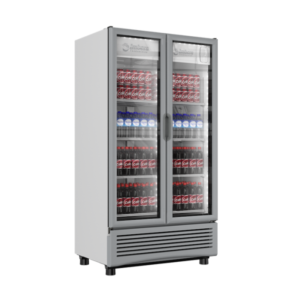 VR 26 Su doble puerta le permite mejorar el mercadeo y ofrecer una mayor variedad de productos