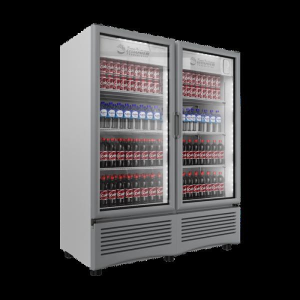 VR 35 Refrigerador Comercial Industrial VR-35 Su doble puerta le permite mejorar el mercadeo y ofrecer una mayor variedad de productos