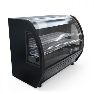 Vitrina Refrigerada BHS-20 vidrio curvo