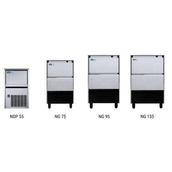 Maquinas de hielo bajo mostrador Alfa
