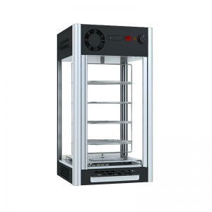 Vitrina Caliente Giratoria para Pizza NR-RTR-108L