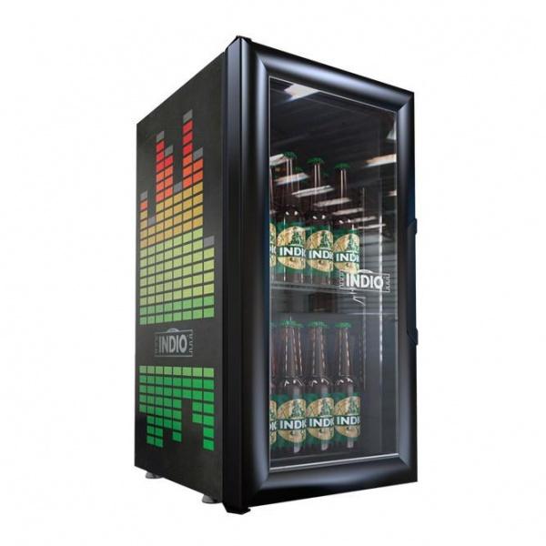VR 1 5 indio Refrigerador Comercial Industrial VR-1.5 Enfriador para colocarse sobre mostrador, ideal para apoyar lanzamientos o promociones.