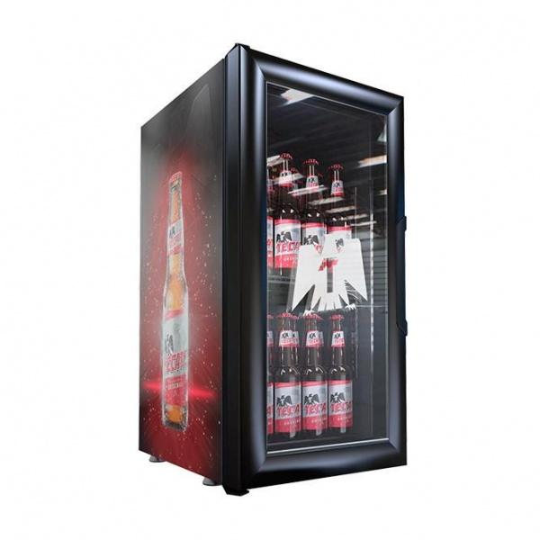 VR 1 5 tecate Refrigerador Comercial Industrial VR-1.5 Enfriador para colocarse sobre mostrador, ideal para apoyar lanzamientos o promociones.