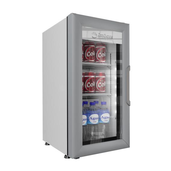 VR 1 5 Refrigerador Comercial Industrial VR-1.5 Enfriador para colocarse sobre mostrador, ideal para apoyar lanzamientos o promociones.