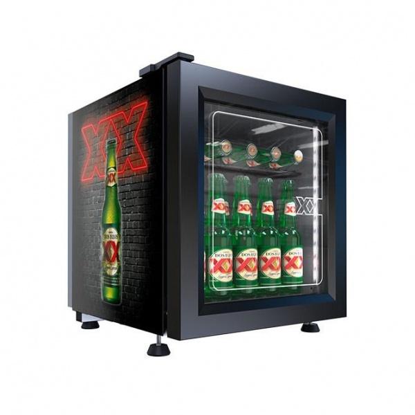 VR0 9 baby cooler 2X Refrigerador Comercial Industrial VR-0.9 Enfriador para colocarse sobre mostrador, ideal para apoyar lanzamientos o promociones.