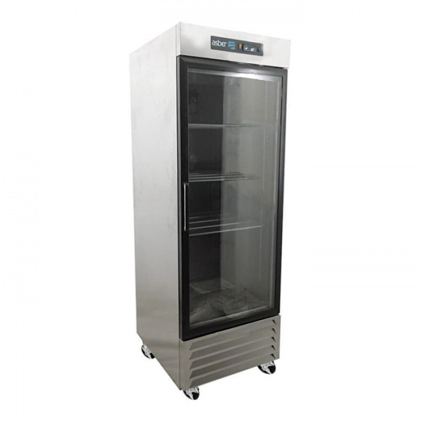 arr 17 1g pe 2 Refrigerador Vertical Profesional ARR-17-1G-PE Pro-Eco 1 en Acero Inoxidable y Puerta de Cristal. Capacidad de 17 pies cúbicos.