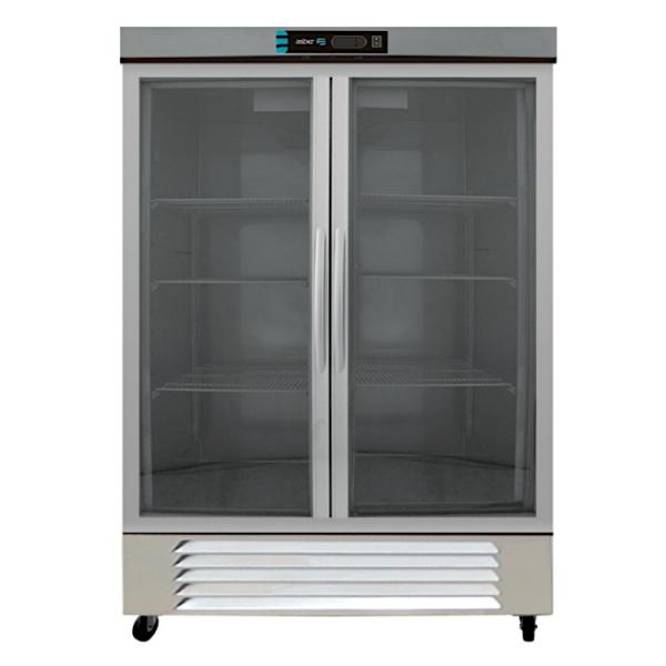 refrigerador profesional en acero inoxidable arr-37-2g-pe-1