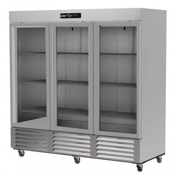 refrigerador profesional en acero inoxidable arr-72-3g-pe-1