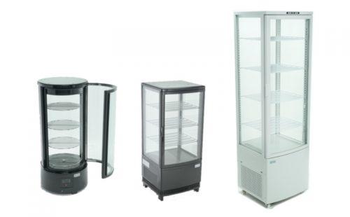Exhibidores panorámicos refrigerados