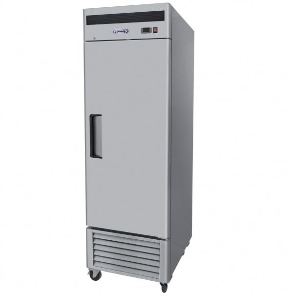 refrigerador de acero inoxidable rvs-114