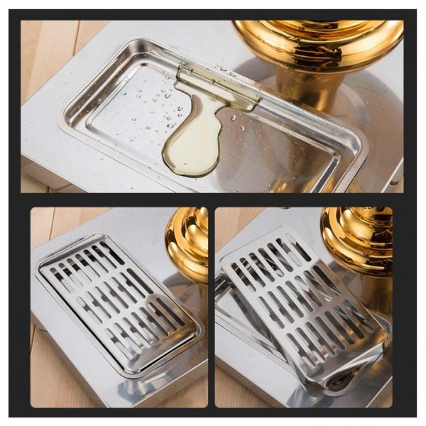 AH ZCF detalle 1 Dispensador de Jugos y Bebidas AH-ZCF301B. Con este equipo se pueden mantener Líquidos Fríos, Calientes o a Temperatura Ambiente gracias a su columna central de Acero Inoxidable que puede rellenarse con Hielo, Agua Caliente o sin rellenar. Provea las bebidas a bajo costo con estos dispensadores elegantes y que gracias a su tamaño compacto se acomodan en cualquier espacio.