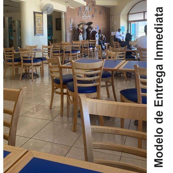 Silla de madera a200 para restaurante