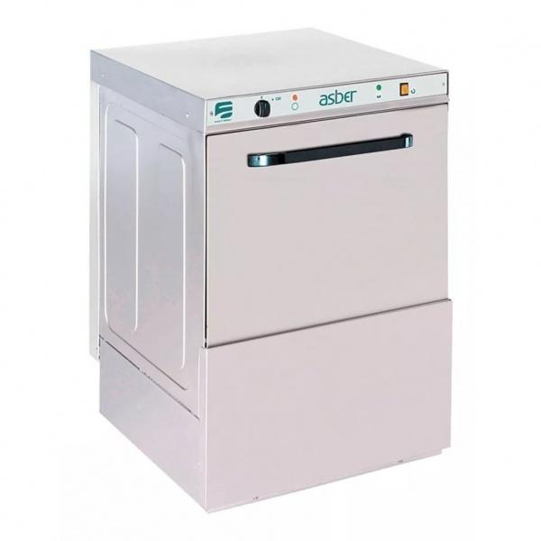 easy 500 lavavajillas 2 1 La Lavavajillas Industrial EASY-500 de la Serie EASY WASH ha sido diseñada para lavar, desengrasar, desinfectar y abrillantar vasos y platos con gran facilidad. El panel de control electromecánico proporciona un programa de lavado de sólo 120 segundos, pero suficiente para garantizar una eficaz limpieza de la mayor suciedad. Estos lavavajillas están diseñados para cestas de 500mmx500mm con un espacio libre de 320mm, para lavar una amplia variedad de vasos y platos. Especialmente diseñados para el uso en bares, pubs, restaurantes, etc. Accesorios suministrados: 1 cesta CP-16/18, 1 cesta CT-10 y 1 cubilete para cubiertos CU-7. Producción cestas/hora: 30 Ver más Lavavajillas Aquí