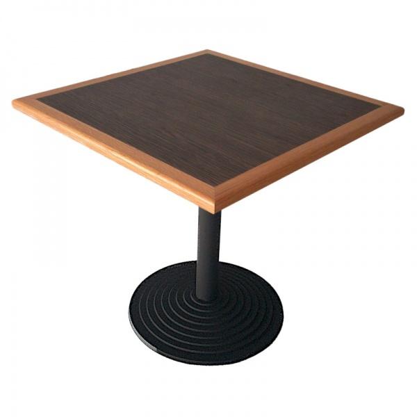 Mesa de formaica canto de madera MECCMEN-TB-56