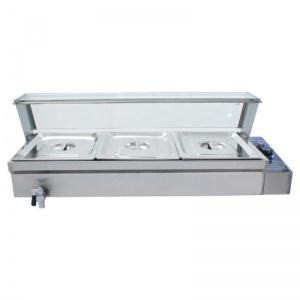 barra baño maria electrico rtc-3h