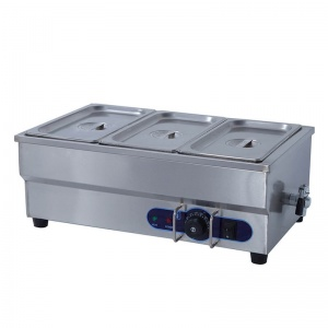 barra baño maria electrico SB-3T