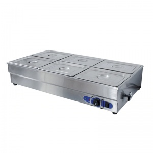 barra baño maria electrico sb-6t