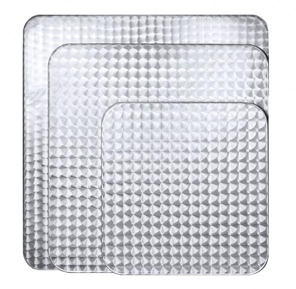 sst02 cubiertas varias La Mesa Cuadrada de Acero y Aluminio ST02-TB10 se fabrica en medidas de 70, 80 y 90 cms. Su cubierta es de Acero Inoxidable tipo 304 y Base de Aluminio de 4 Puntas TB10. Es apta para exteriores pero igualmente luce formidable en Interiores. Es Ideal para Restaurante, Terrazas, Bares y Cafeterías. *Este modelo de Mesa está disponible en 70x70, 80x80 y 90x90 cms. Regresar a Mesas de Acero y Aluminio para Restaurante