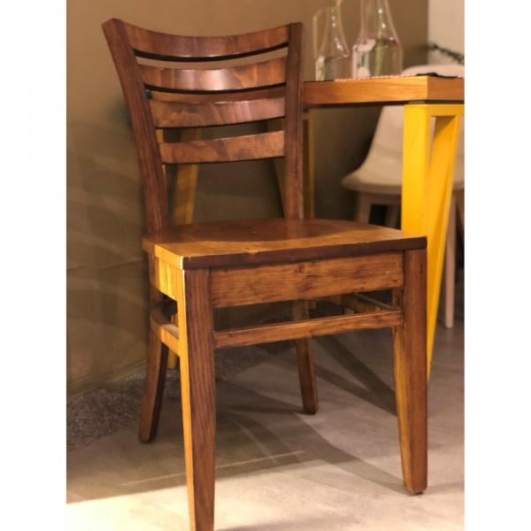 Silla para restaurante de madera Triana