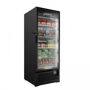 congelador vertical puerta cristal vfs-24