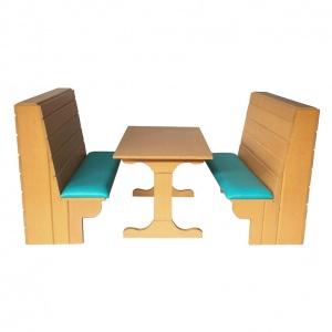 Booth para restaurante Campirano