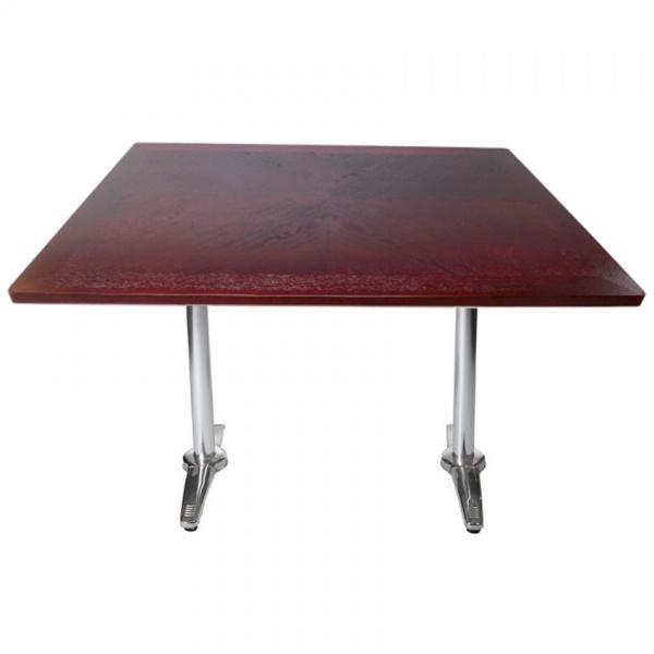 Mesa de madera para restaurante WVT-312-TB06-12080