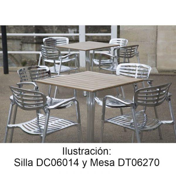 Silas y mesas de aluminio