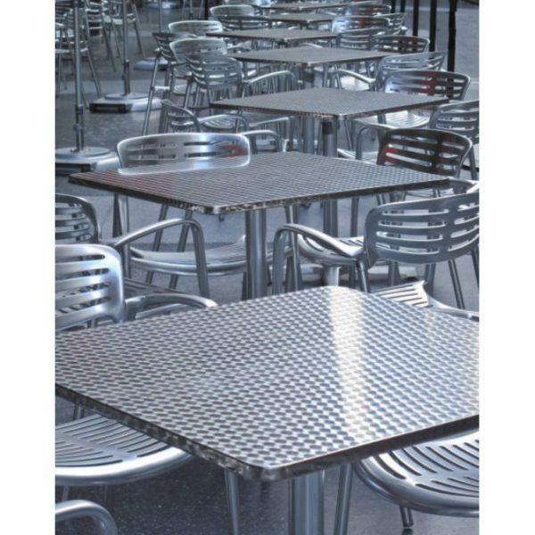 Silla de Aluminio DC-06014 para restaurante