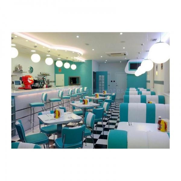 Sillas y Booths Retro para restaurante