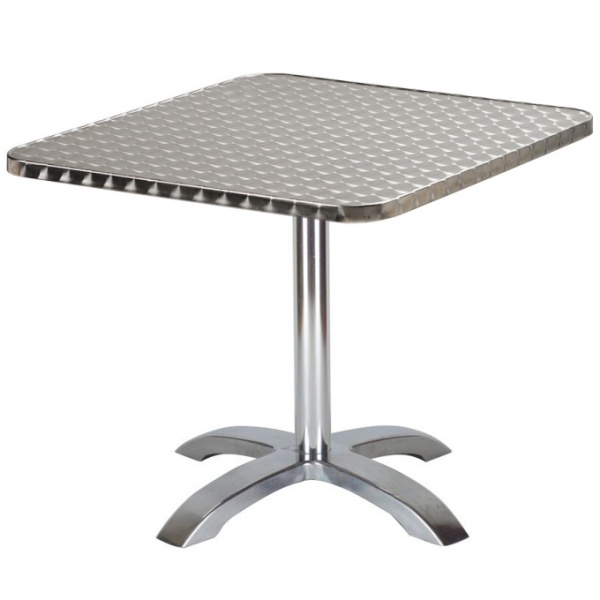Mesa de Acero y Aluminio ST02-TB10 para restaurante y exteriores