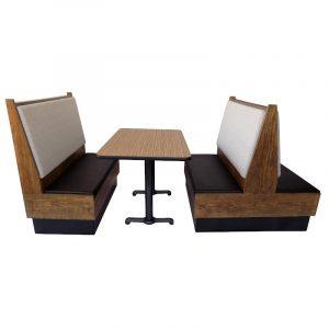 Booth para Restaurante Vintage