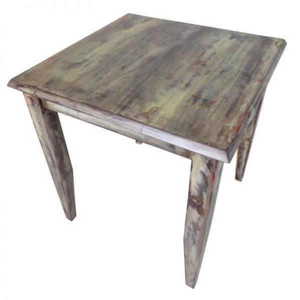 Mesa de Madera Vintage para Restaurante y Cafeterias