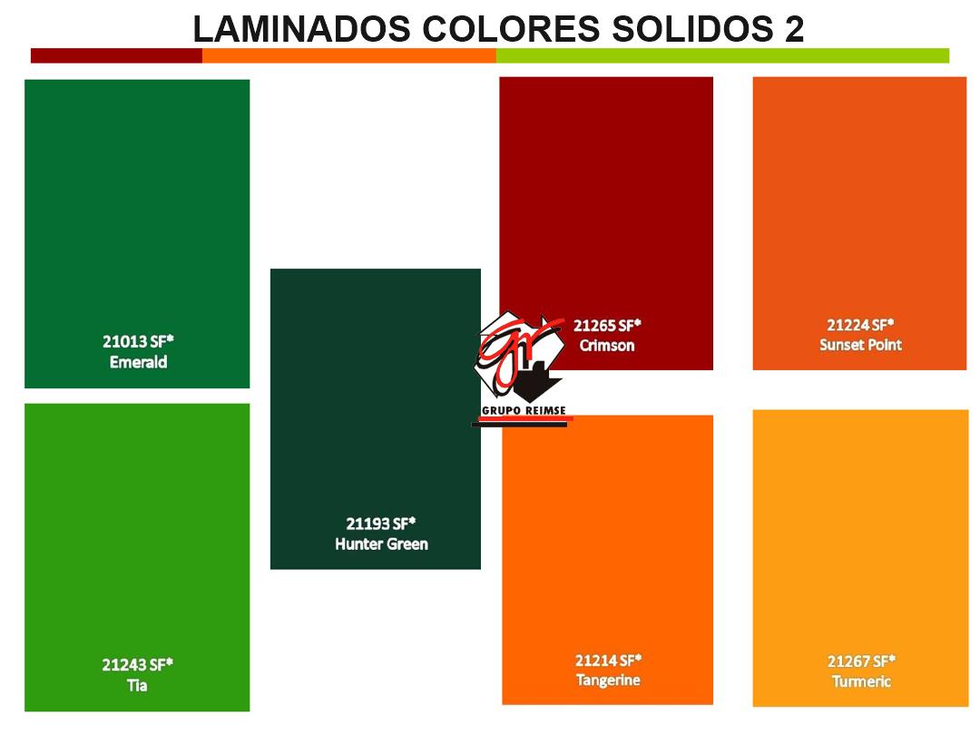 Laminados Colores Sólidos