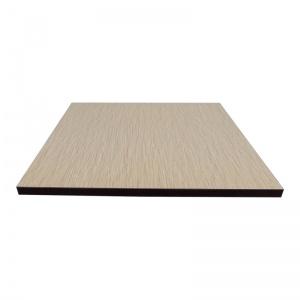 Cubierta Laminado Bamboo Canto Plano Wengue
