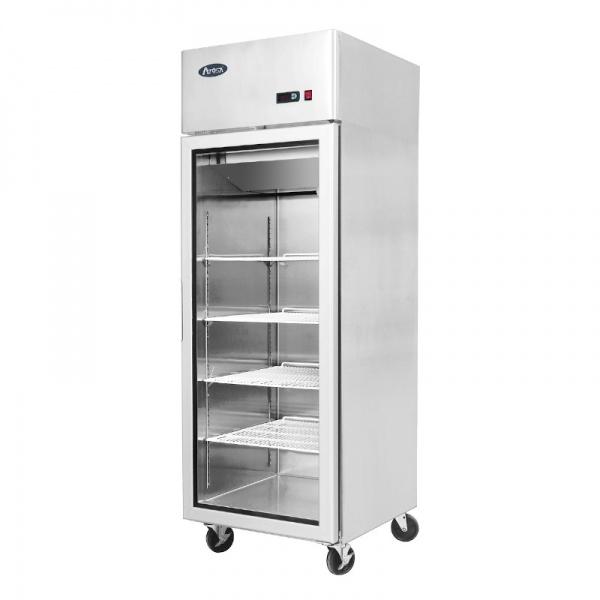 Refrigerador de Acero Inoxidable puerta de cristal MCF8604GR