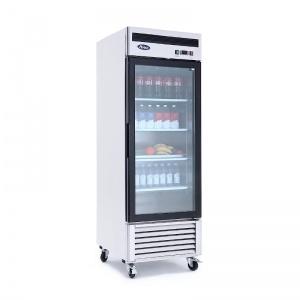 Refrigerador de Acero Inoxidable puerta de cristal MCF8705GR