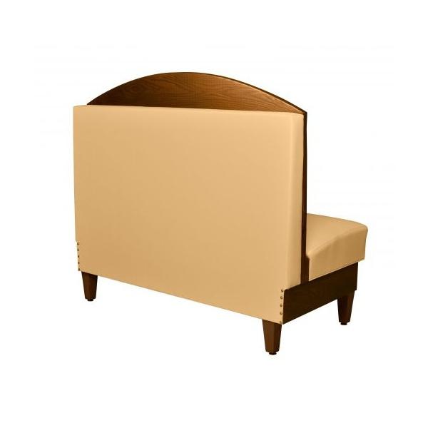 winchester p 2 Una vista y comodidad únicas logrará con el Booth para Restaurante Winchester-P. Se fabrica con estructura de Madera y tapizado en Vinipiel, Tela o combinado. Todos los terminados son en colores de su elección. El Booth Winchester-P debido a su diseño, es en gabinete para 2 personas. Este modelo se apoya en 4 patas de madera maciza con regatones niveladores. Gracias a esto se facilita la limpieza. Medidas: 120 x 70 x 125 cms. *También, se pueden fabricar en diferentes Medidas y Configuraciones. Regresar a Gabinetes y Booths para Restaurante