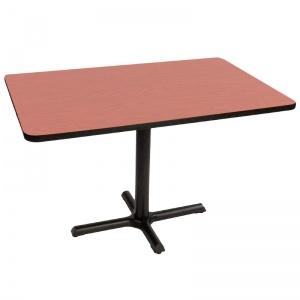 mesa rectangular de madera para restaurante MERECCP-BLCH-12080