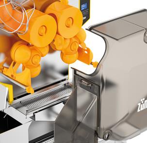 speed pro basic 5 Exprimidor Automático de Naranja Speed Pro Basic. Los modelos de sobremesa se adaptan perfectamente a las mesas o barras de la zona de autoservicio de Hoteles y Cafeterías. Ofreciendo un servicio de jugo fácil y rápido.   Origen: Europa.