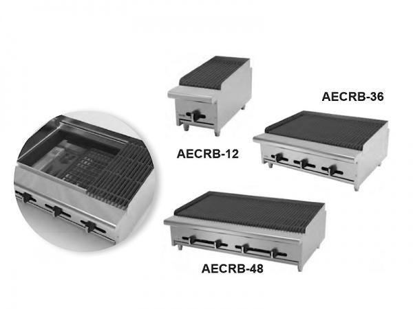 Asadores industriales para restaurante AECRB
