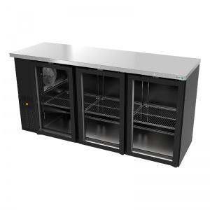 Refrigerador Back bar Contrabarra Slim-ABBC-24-72-G-HC