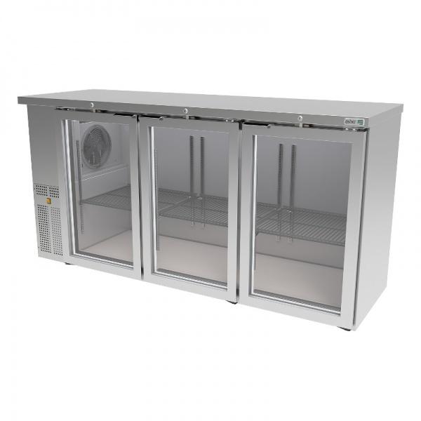 Refrigerador BackBar Slim ABBC-24-72-SG-HC