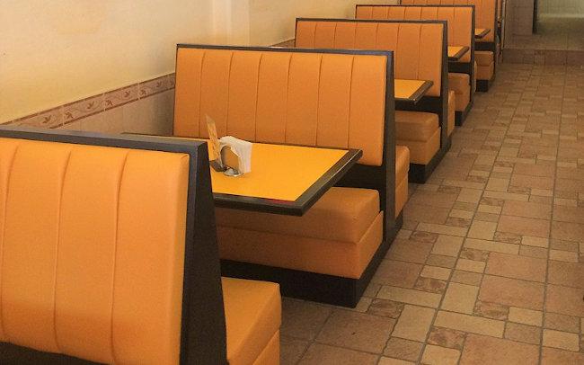 Booths para Restaurante ambientado