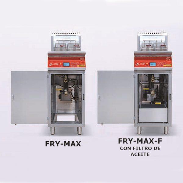 Freidor a Gas Computarizado Fry-Max y Fry-Max-F